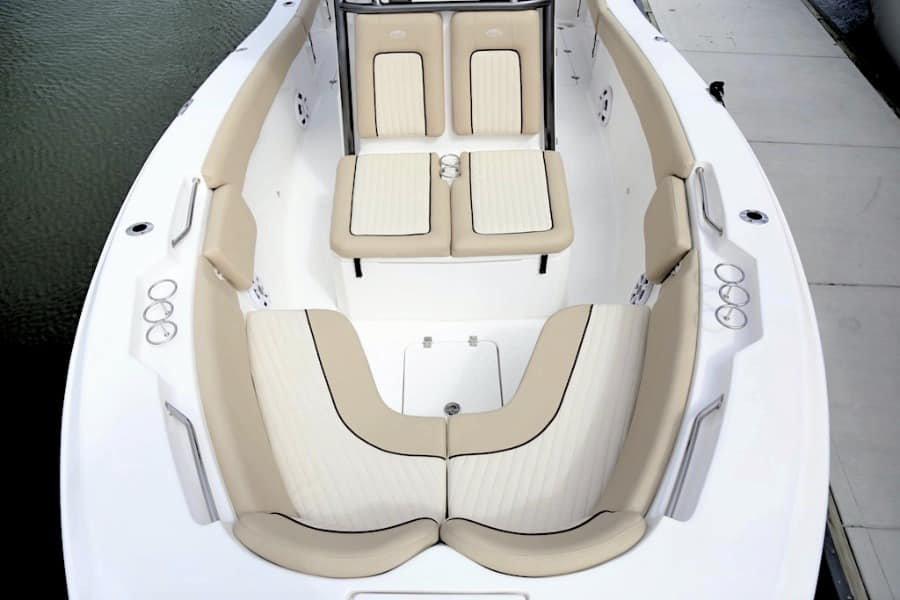 Sea Fox Commander bow seating